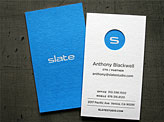 Striking Block Colour Business Card