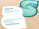 Structur3D Printing Business Cards