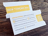 Thread Films Business Card