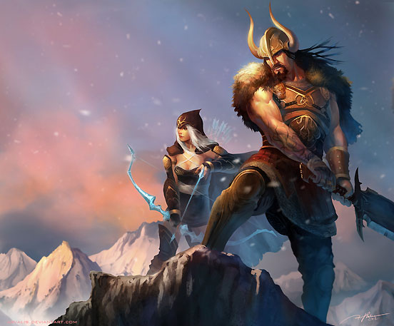 Tryndamere And Ashe Revisted