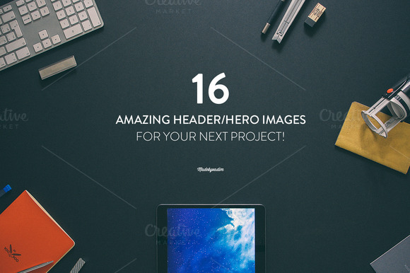 16 Hero / Header Images