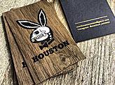 Houston Skull Card