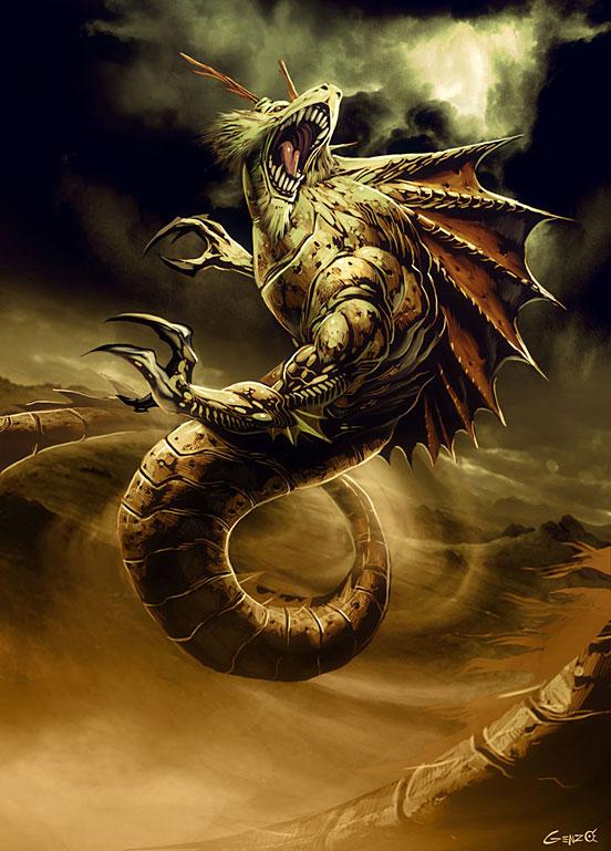 Au Kuang   Dragon King of the East Sea