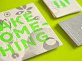 Clever Die Cut Business Card