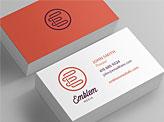 Emblem Media Business Card
