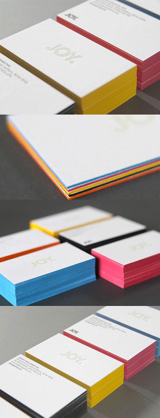 Minimalist Design Business Cards