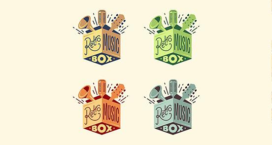 Retro Music Box