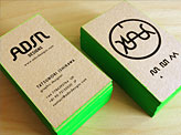 Self Re Branding Business Cards