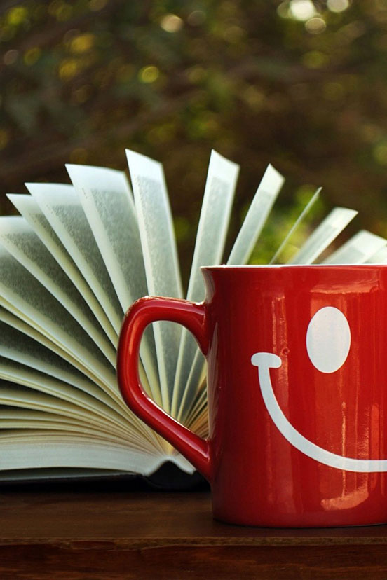 Book and Cup