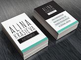 Alina Krasieva Business Cards