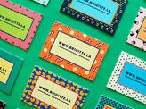Brigitte La Business Cards
