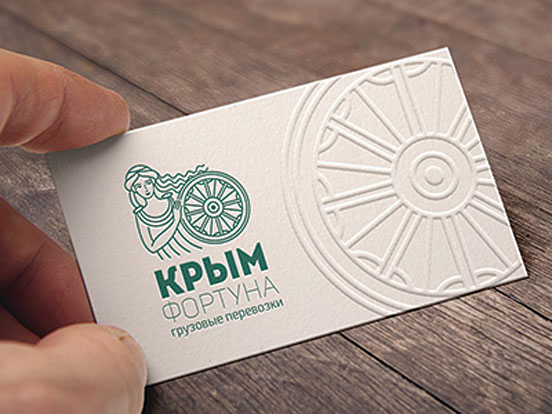 Crimea fortune Business Cards