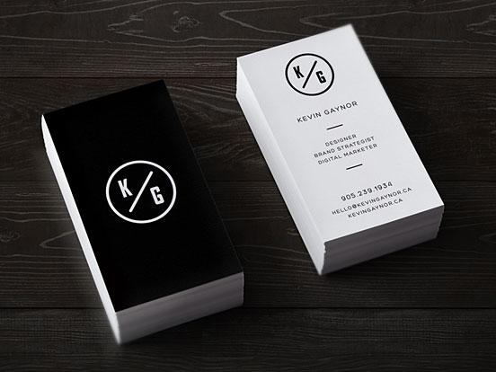Dribbble Kg Business Cards