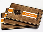 Finished Wooden Business Cards