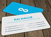 Kai Mallie Business Cards