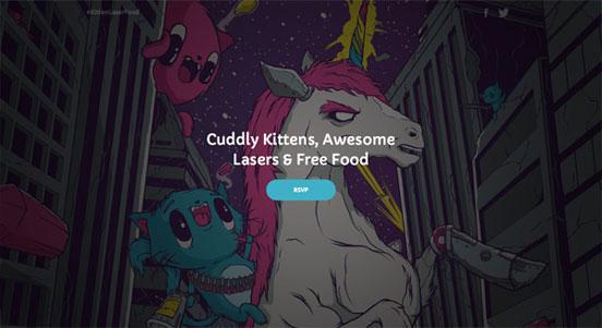 KittenLaserFood