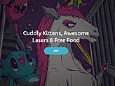 KittenLaserFood