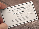 Seal Stamp Business Cards