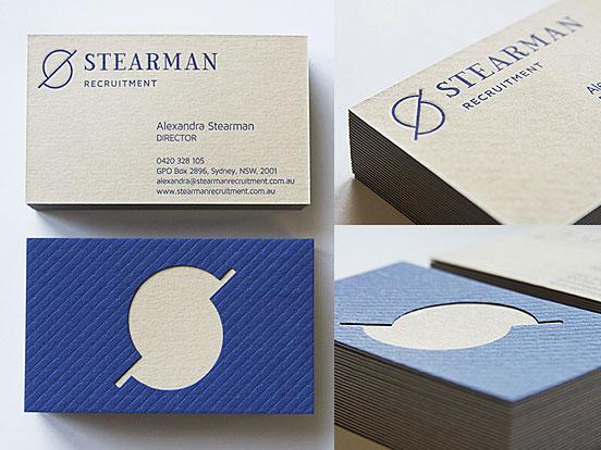 Stearman Business Cards