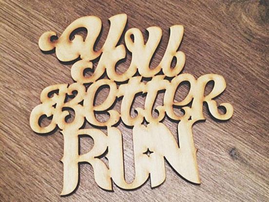 Wood Lettering Fonts Inspirations