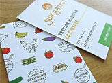 Sun Basket Stationary Business Card