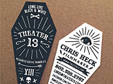 Theater13 Business Cards