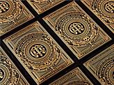 Gold Hot Foil Stamped Business Cards