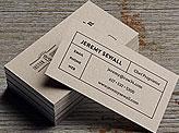 Jeremy Sewall Business Cards