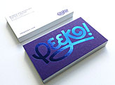 Peeko Business Cards