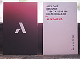Alex Dale Business Card