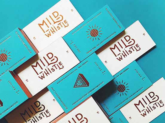 Beautiful Letterpress Buisness Cards