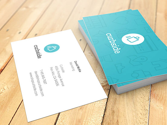 Curbside Business Cards