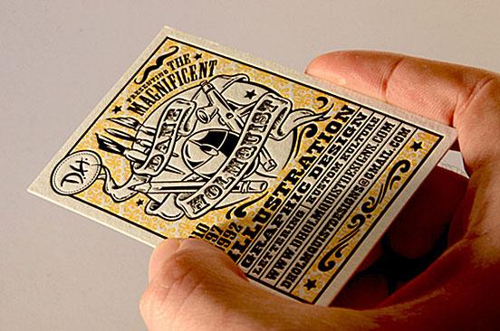 Dane Holmquisz Buisness Cards