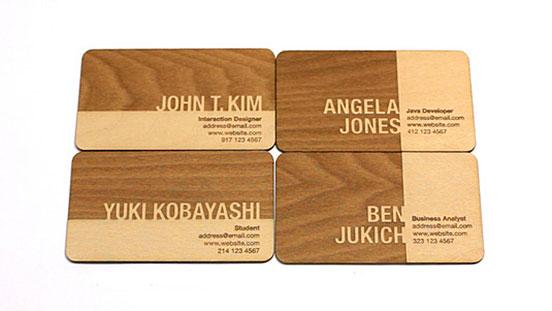 Engraved Buisness Cards