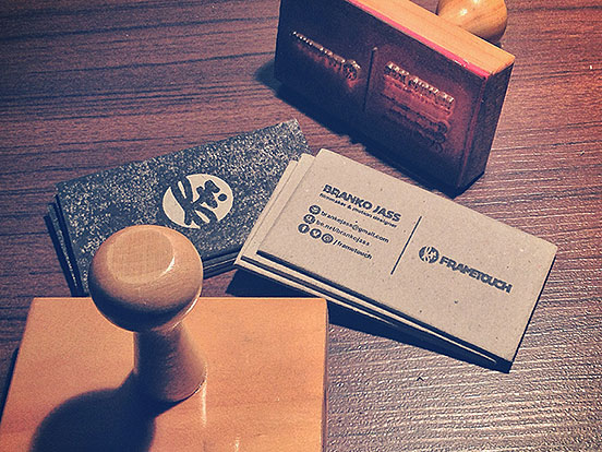 Frametouch Business Cards