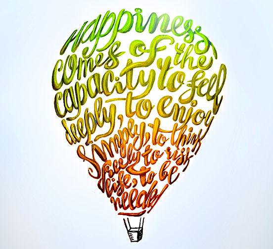 Lettering Balloon