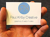Paul Kirby Business Cards