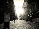 Sun in Helsinki