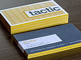Tactic Business Cards