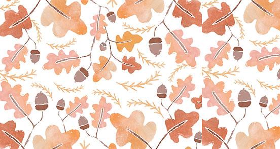 Watercolor Fall Leaves