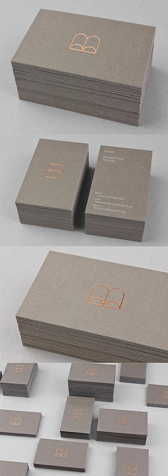 A Triplexed Business Cards