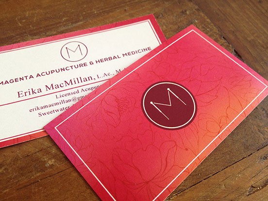 Acupuncture Buisness Cards
