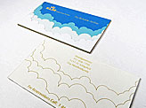 Clever Layered Laser Cut Business Cards