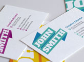 Ribbon Business Cards