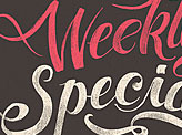 Weekly Special Type