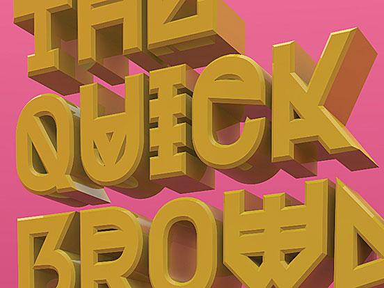 DNR001 Typeface