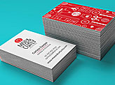 Moe & Curly Business Cards