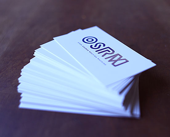 OSRM Business Cards