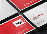Pageii Studio Business Cards
