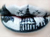 St. Paul's Cathedral Lip Art